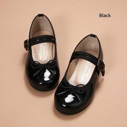 エナメルバレエ靴