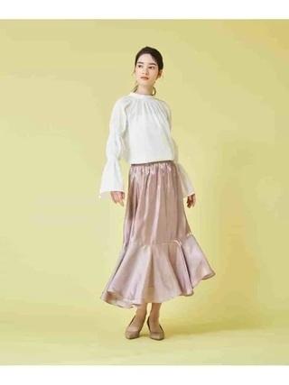 クロッシーサテンスカート