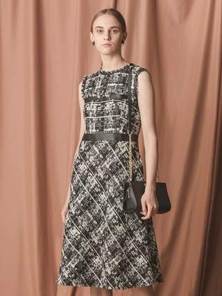 マリアツイードドレス