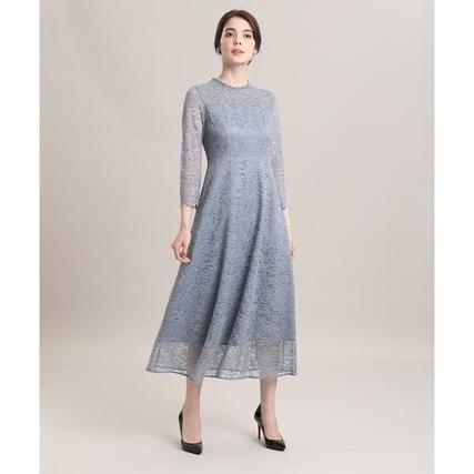 ラッセルレースロングドレス