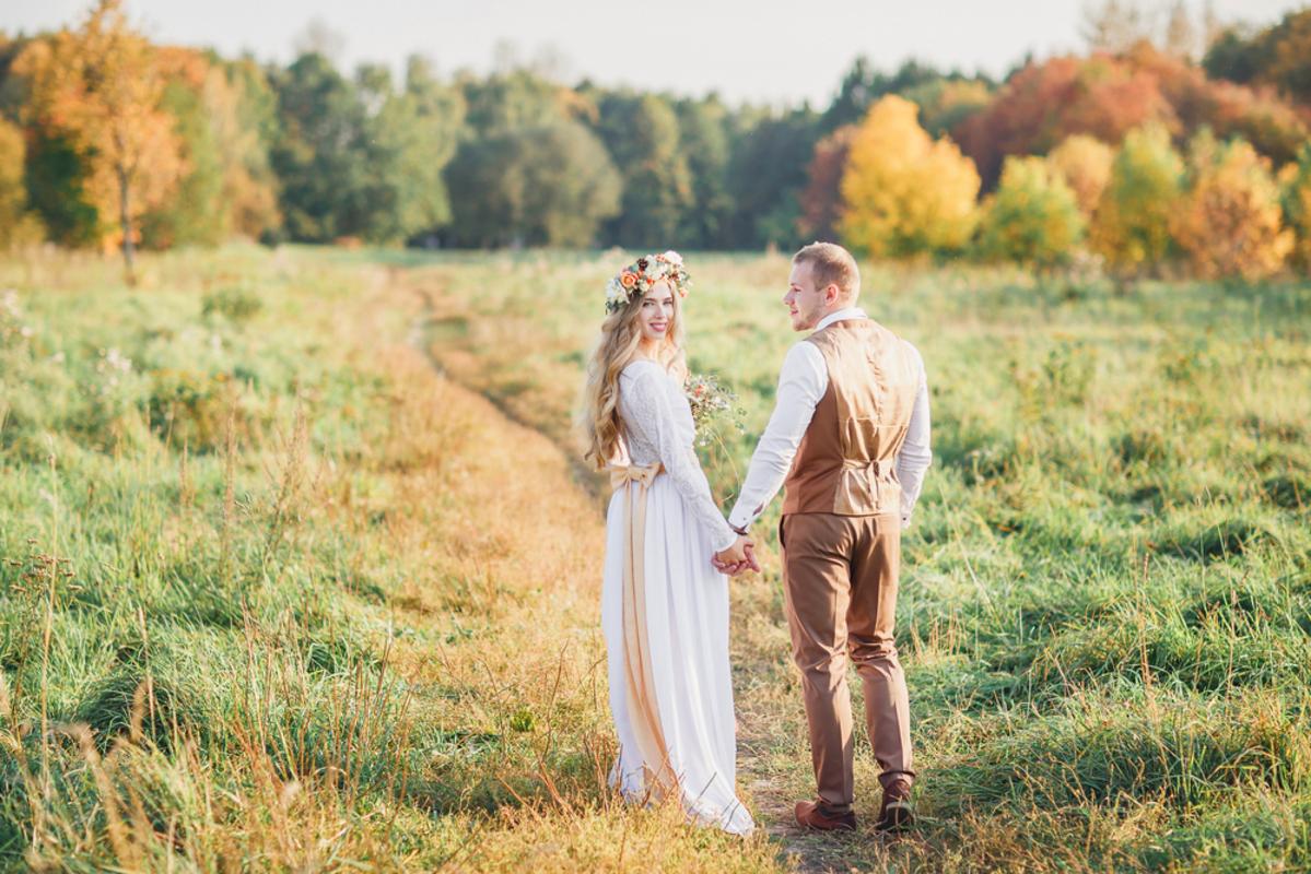 秋の結婚式