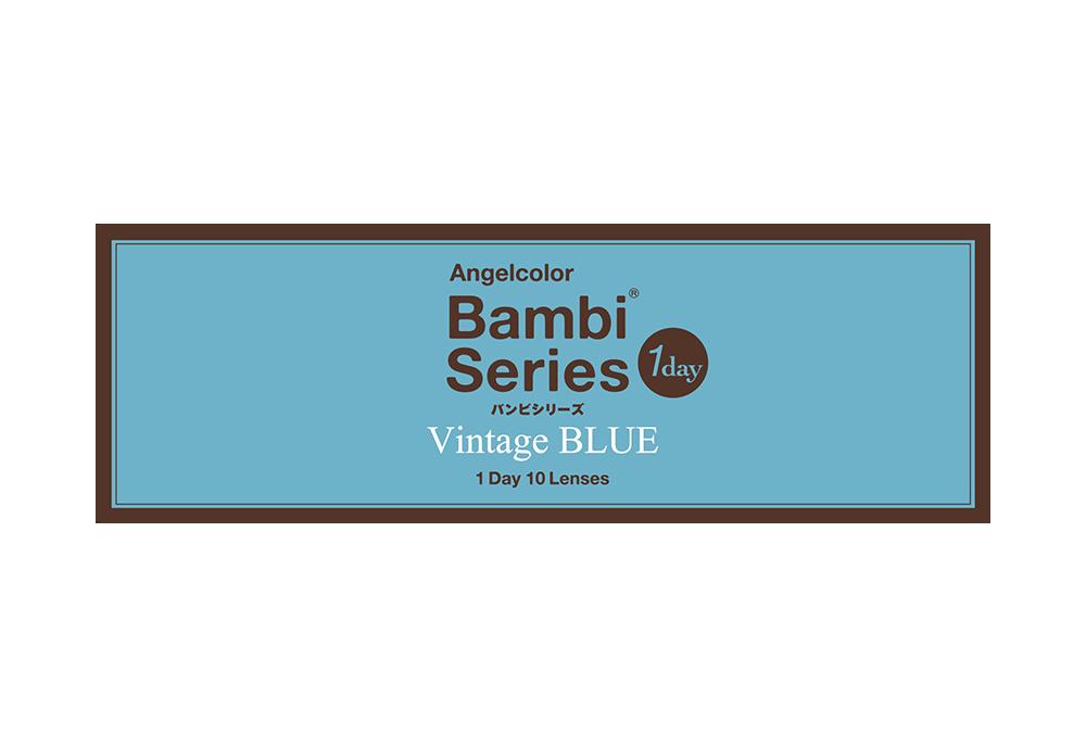 エンジェルカラーバンビシリーズヴィンテージワンデー ヴィンテージブルー 10枚入り
