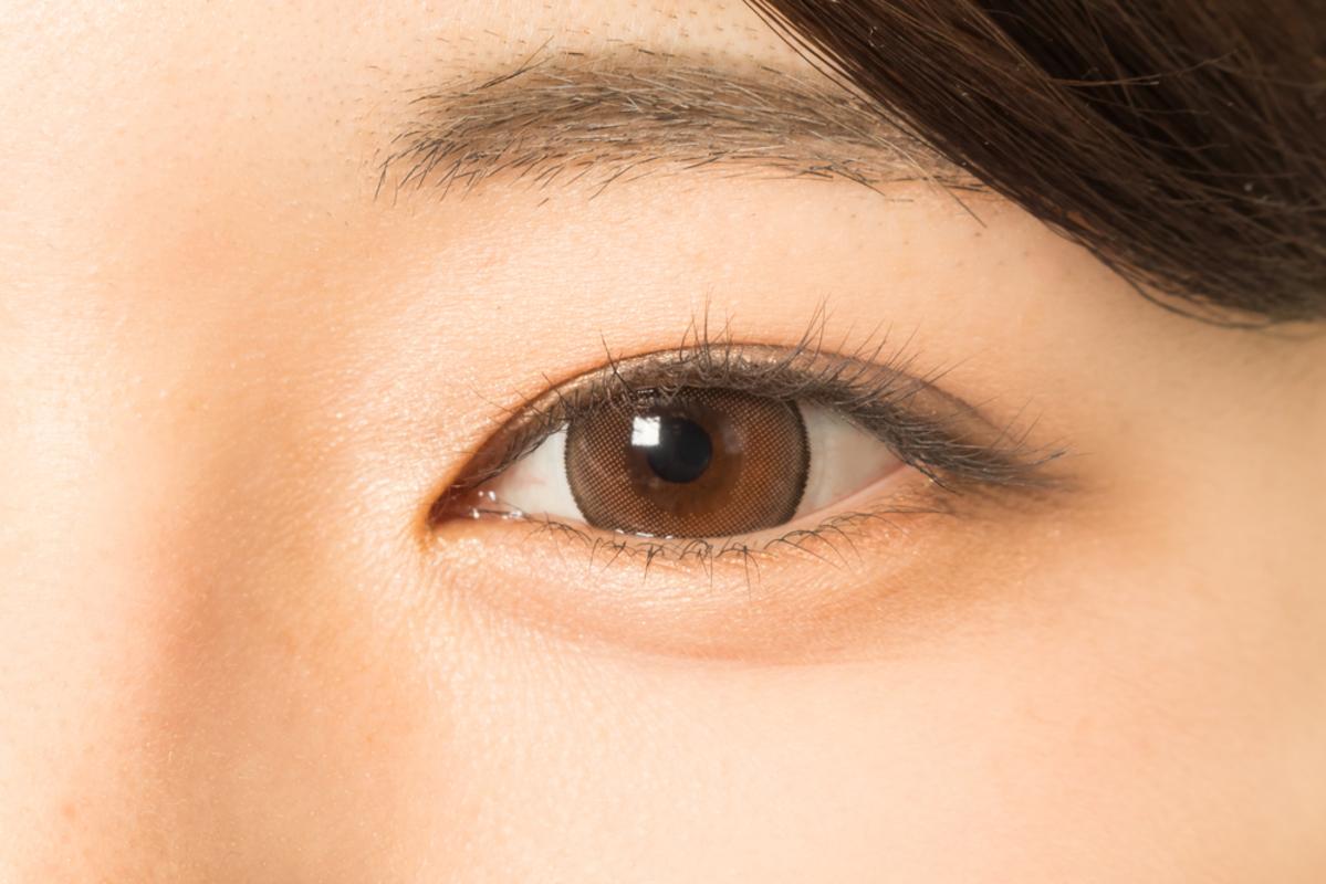 日本人女性の瞳