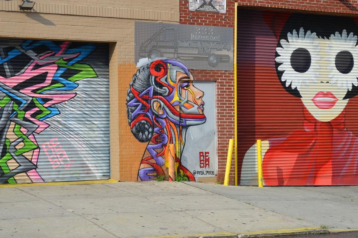 ブルックリンのアート