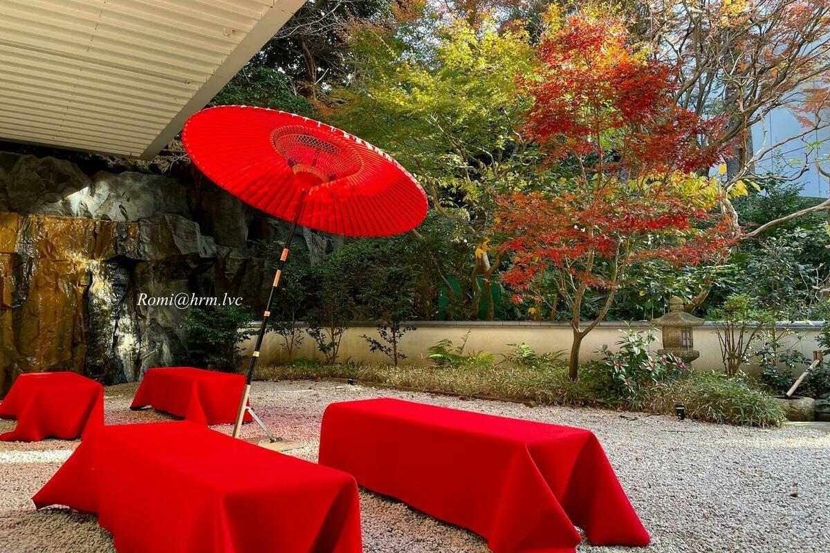 目黒雅叙園の庭園