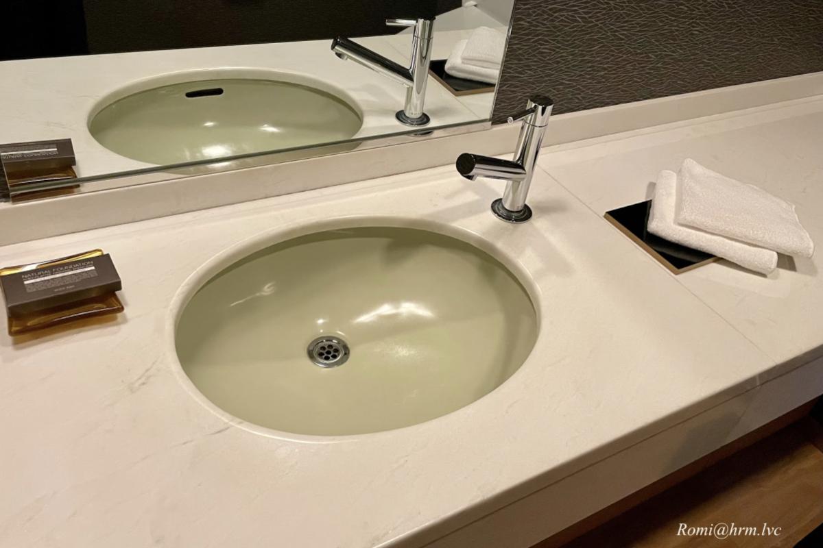 手洗い場の様子