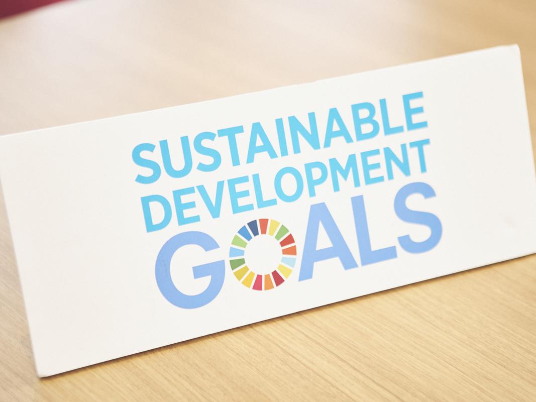 佐伯さまインタビュー SDGsマーク
