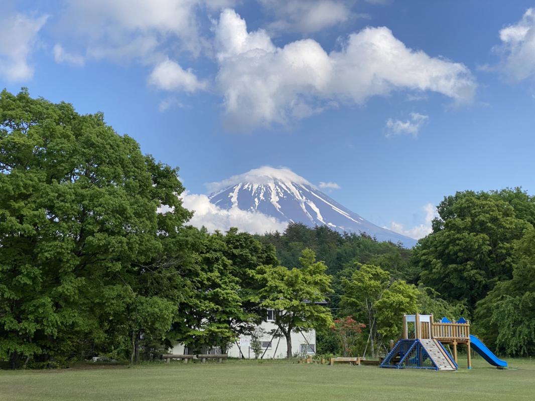 富士山の麓