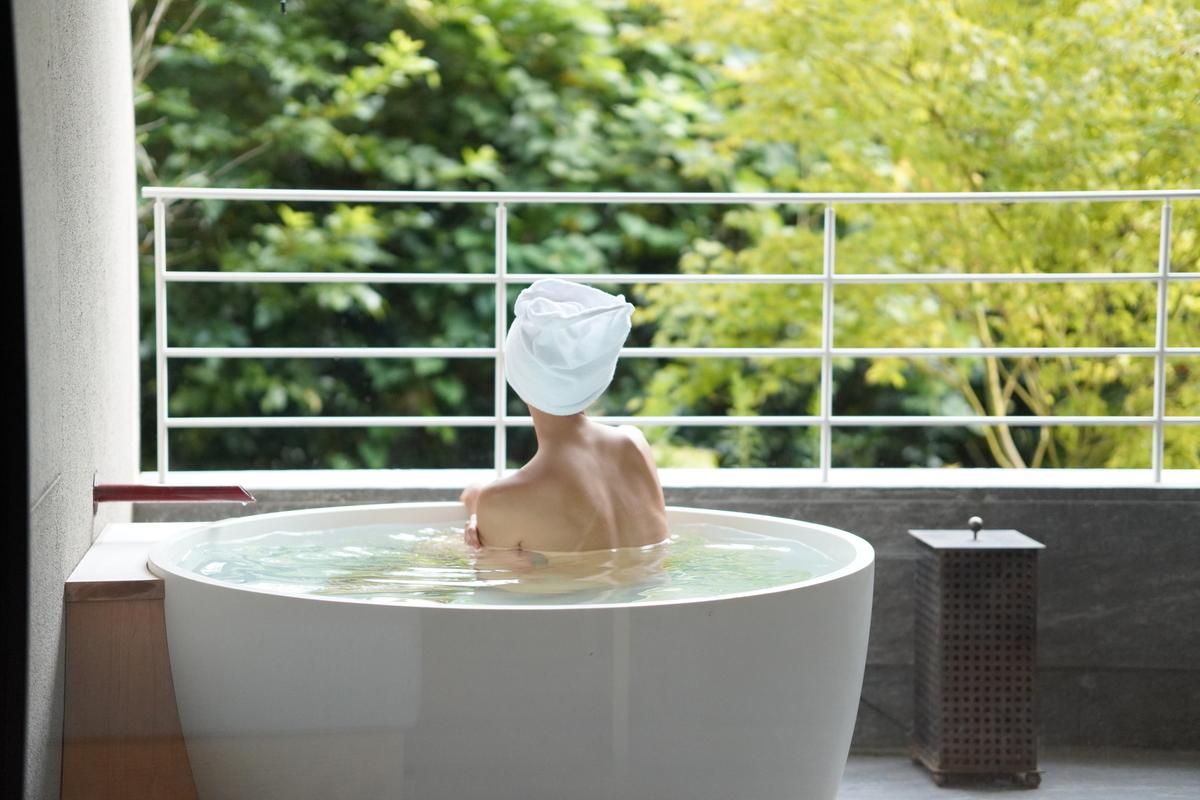 木立ツイン露天風呂
