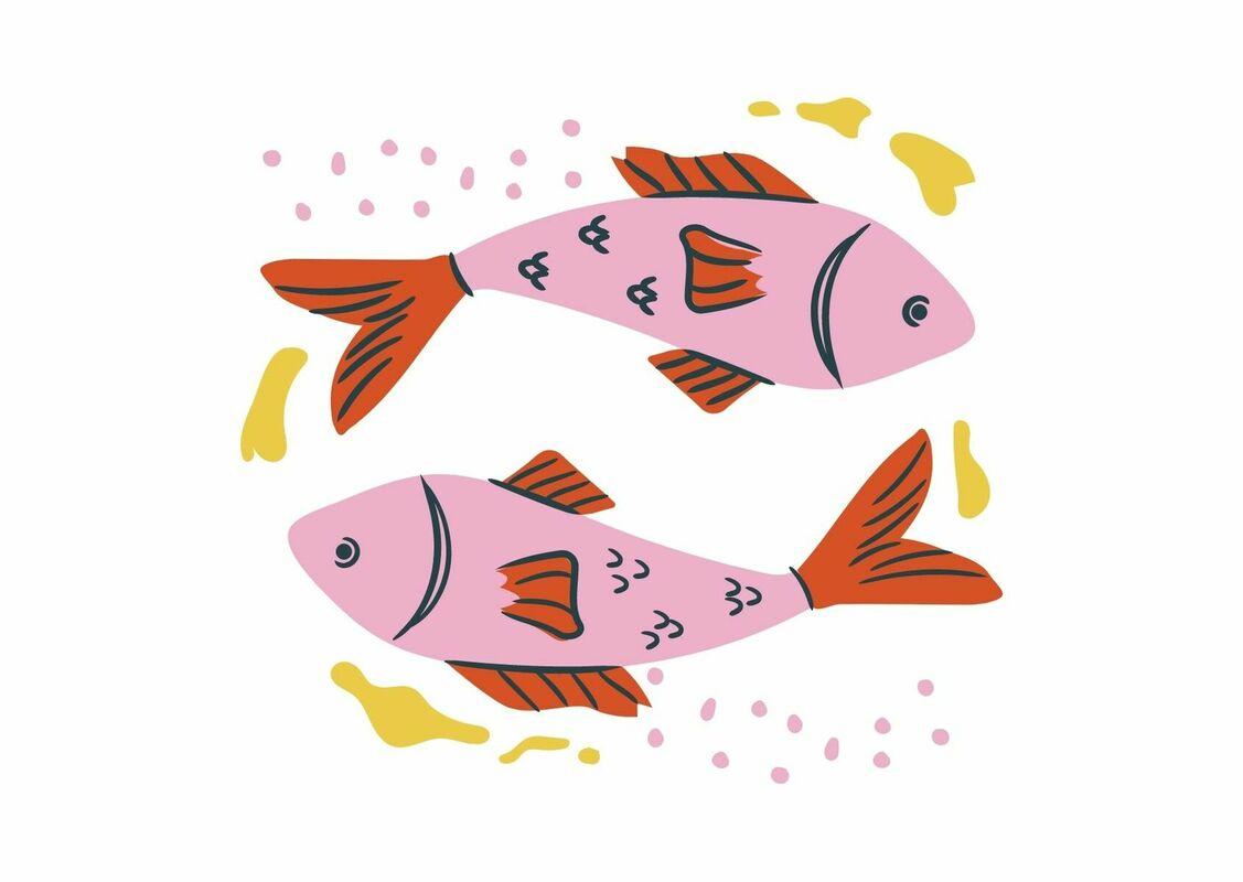 魚座イラスト
