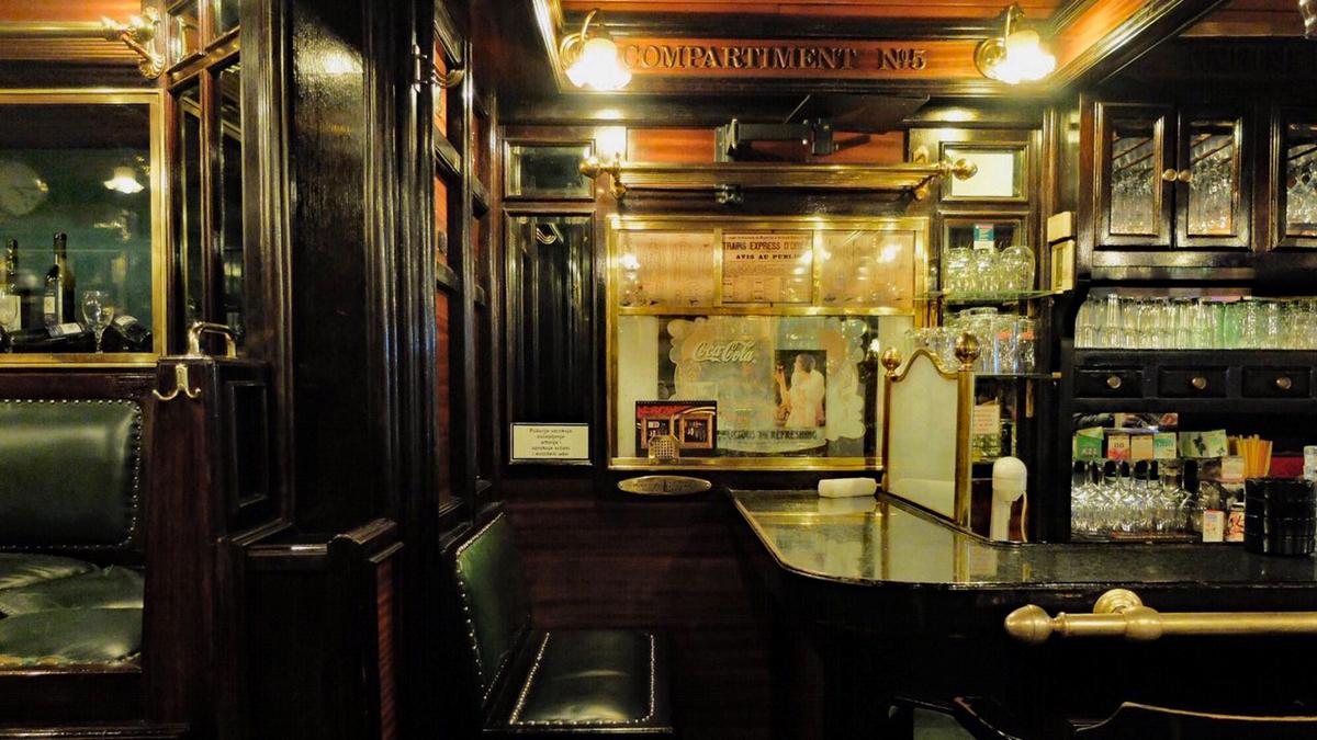 Orient Expressの内装