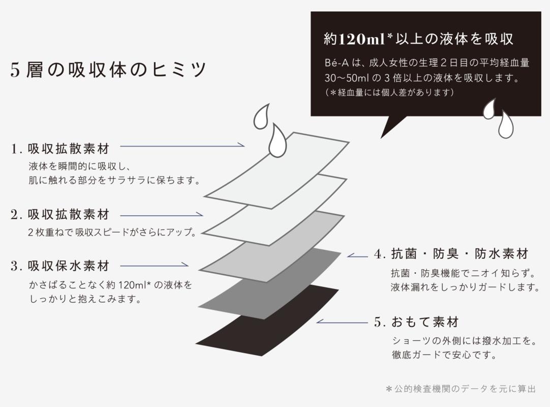 5層の吸収体のヒミツ