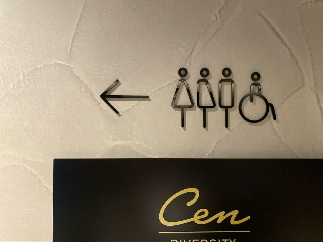 トイレの表記