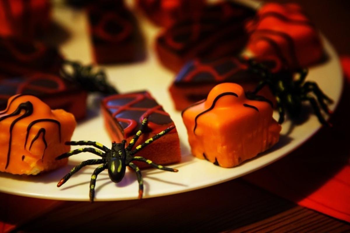 ハロウィーンカラーのお菓子