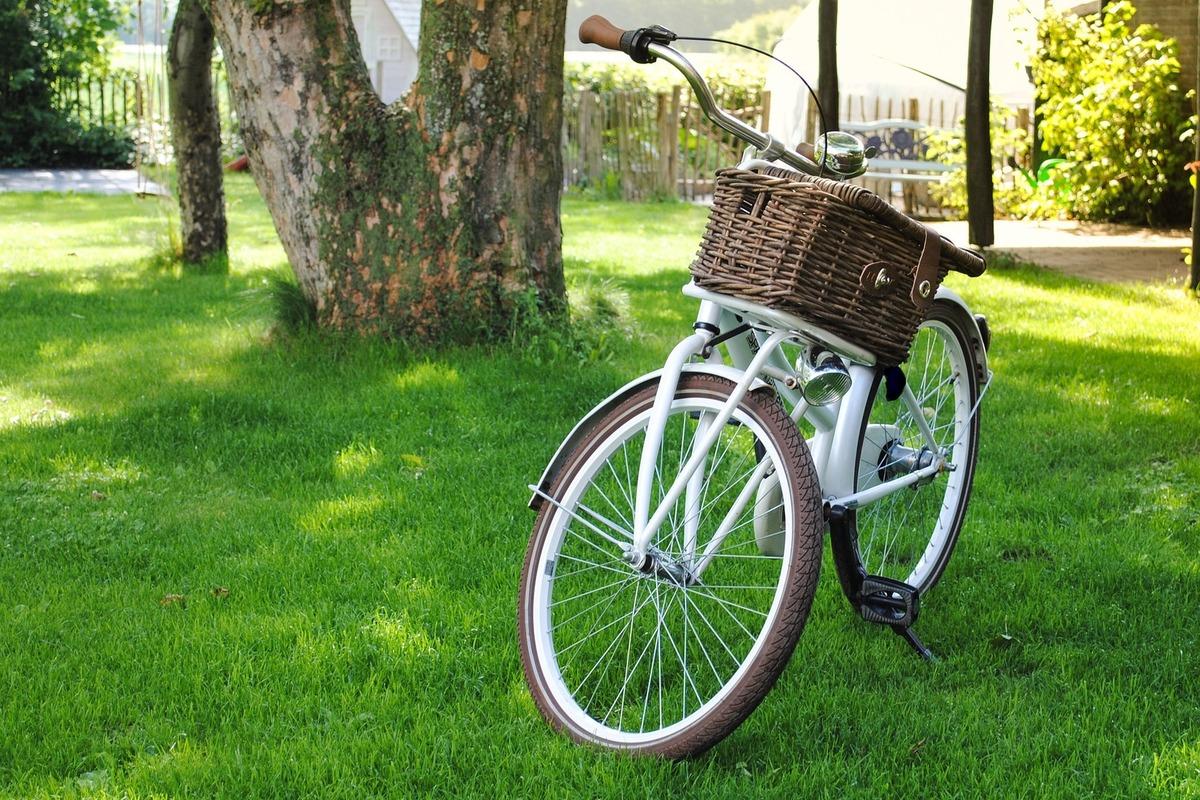 乗り捨てられた自転車